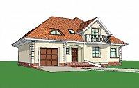 Проект дома Z18 GL bk Фото 1