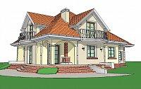 Проект дома Z18 GL bk Фото 3