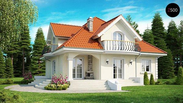 Проект дома Z18 dk