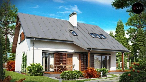 Проект дома Z186