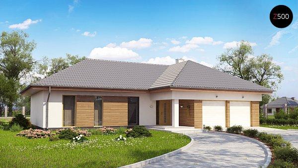 Проект дома Z190