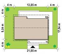 Минимальные размеры участка для проекта Z191