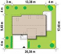 Минимальные размеры участка для проекта Z192