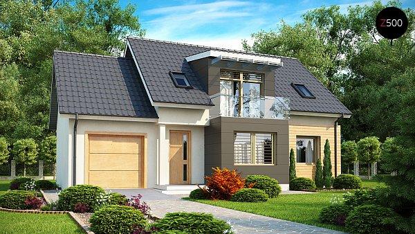 Проект дома Z192