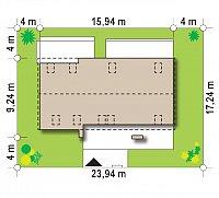 Минимальные размеры участка для проекта Z193