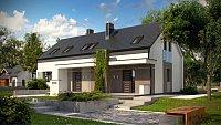 Проект одноэтажного дома на 2 семьи Z193