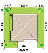Минимальные размеры участка для проекта Z196