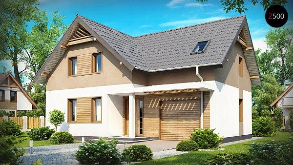 Проект дома Z197