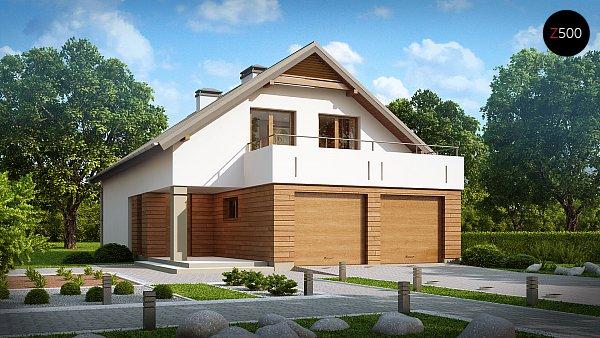 Проект дома Z198