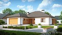 Проект классического загородного дома Z199