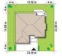 Минимальные размеры участка для проекта Z19