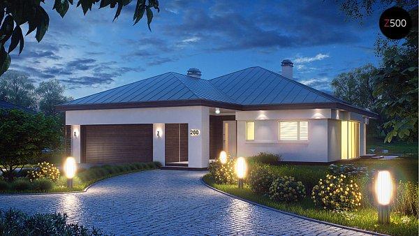 Проект дома Z200