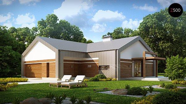 Проект дома Z208
