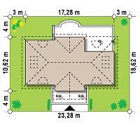 Минимальные размеры участка для проекта Z20