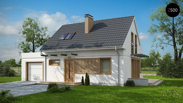 Проект дома Z211 GL