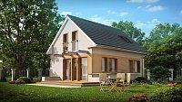 Проект одноэтажного дома в классическом стиле Z211