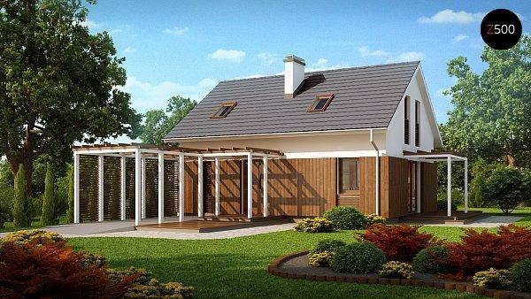 Проект дома Z213