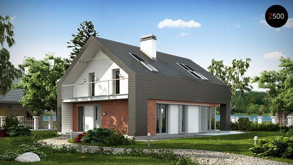 Проект дома Z215
