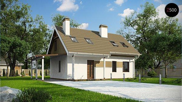 Проект дома Z216 +