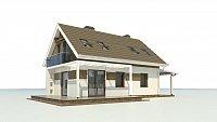 Проект дома Z216 + Фото 1