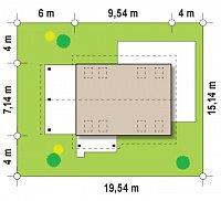 Минимальные размеры участка для проекта Z216