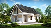 Вариант исполнения проекта дома Z216