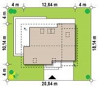 Минимальные размеры участка для проекта Z219