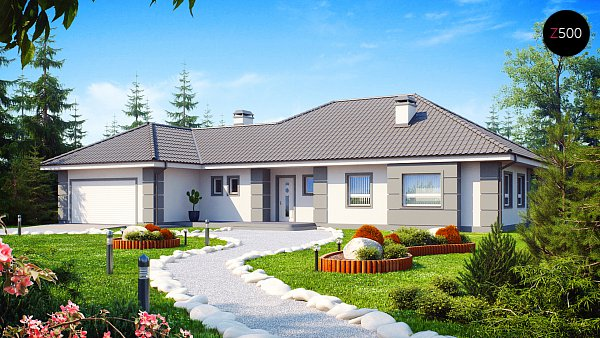 Проект дома Z21
