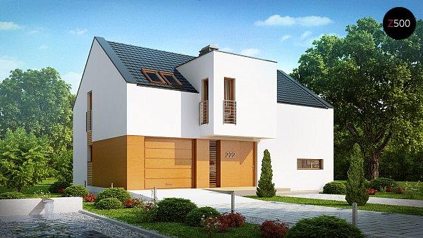 Проект дома Z222