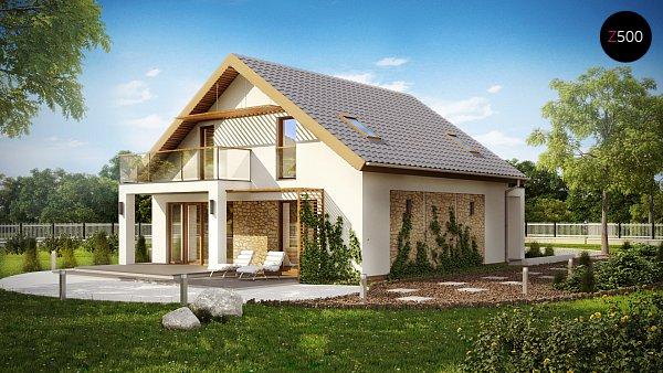 Проект дома Z224