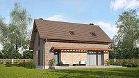 Проект дома Z225 k