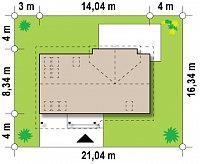 Минимальные размеры участка для проекта Z226 +