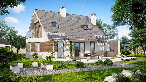 Проект дома Z231