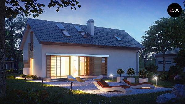 Проект дома Z232