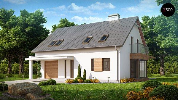 Проект дома Z234