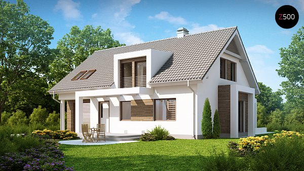 Проект дома Z236
