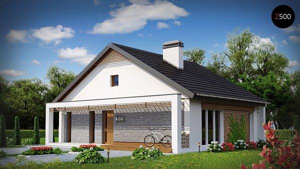 Проект дома Z242