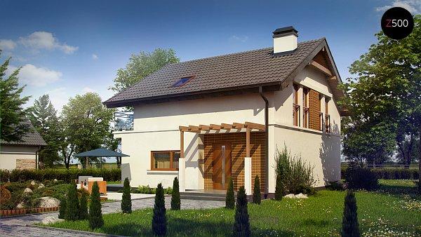 Проект дома Z248