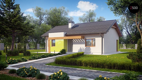 Проект дома Z249