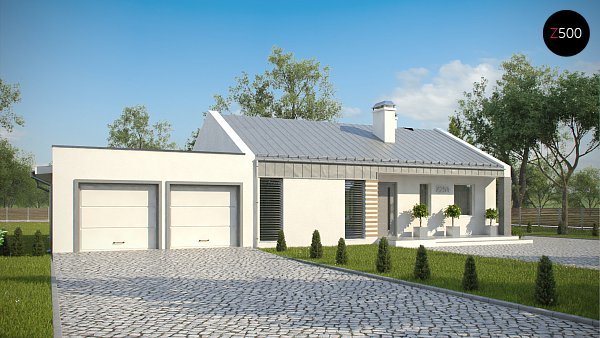 Проект дома Z251 GL2
