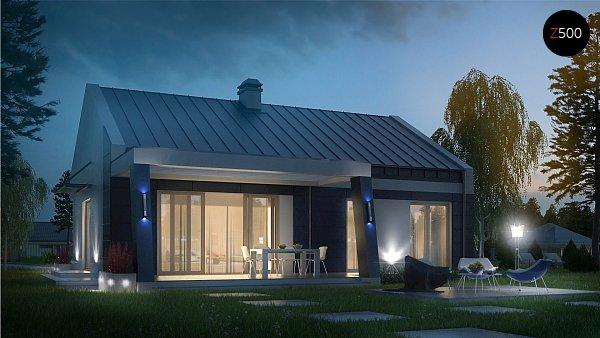 Проект дома Z256