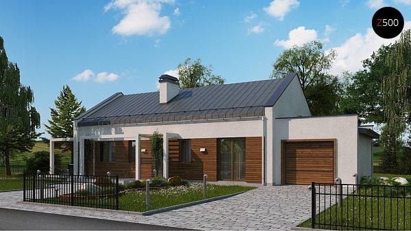 Проект дома Z258 GP