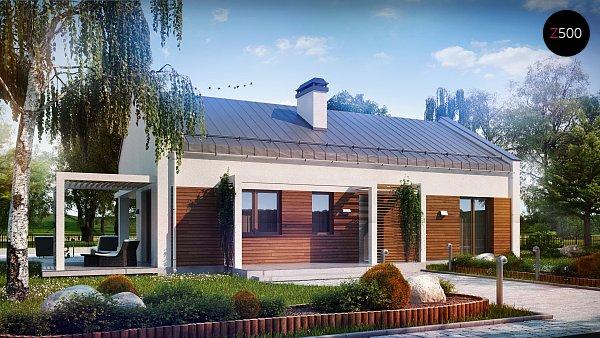 Проект дома Z258