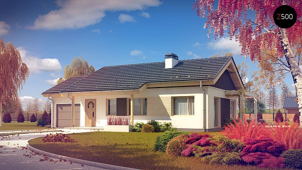 Проект дома Z259