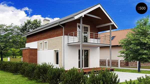 Проект дома Z25