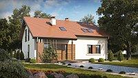 Вариант исполнения проекта дома Z261 v1