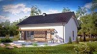 Вариант исполнения проекта дома Z261
