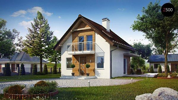 Проект дома Z264