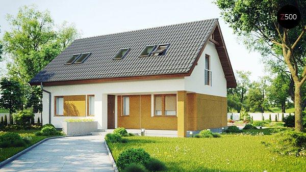 Проект дома Z267