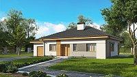 Проект дома в классическом стиле с колоннами Z273 a L GL